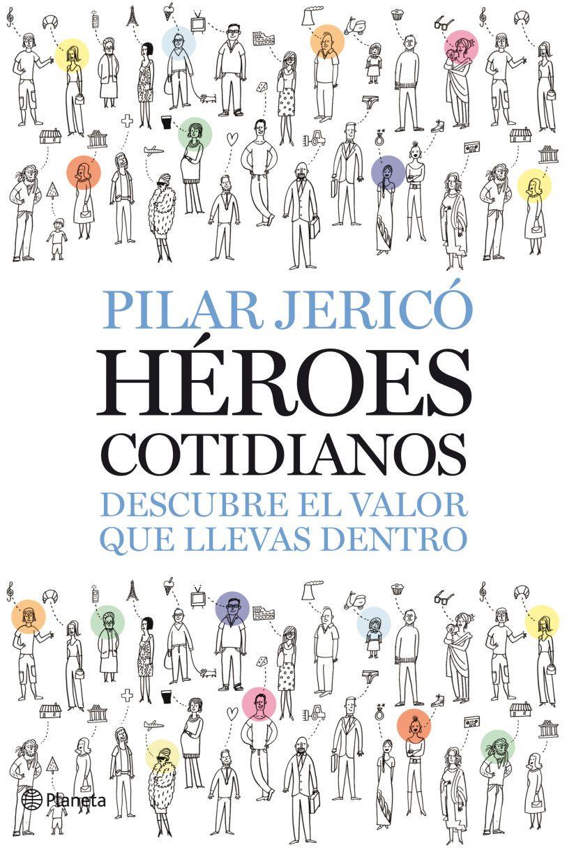 """Portada del libro """"Héroes cotidianos"""""""